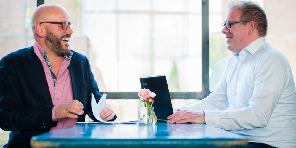 Tom Horst, Frank van der Linden, ZYNC HR Advies Recruitment Interim